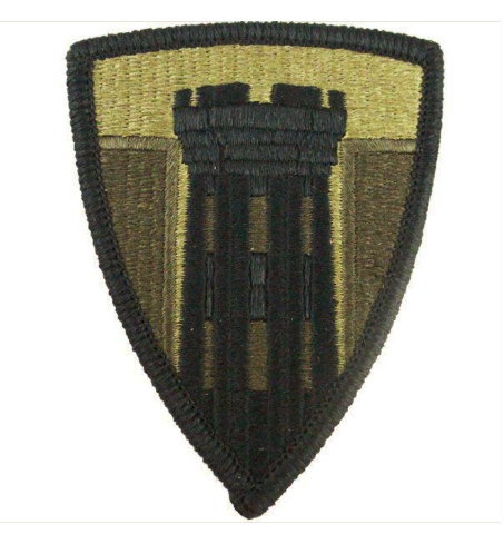 Vanguard ARMY PATCH: 176TH ENGINEER BRIGADE - EMBROIDERED ON OCP
