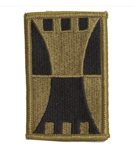 Vanguard ARMY PATCH: 416TH ENGINEER COMMAND - EMBROIDERED ON OCP