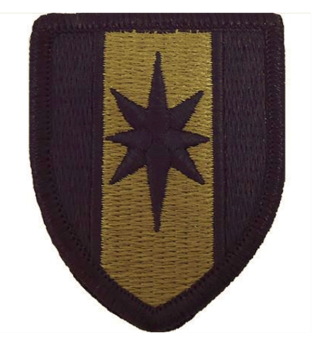 Vanguard ARMY PATCH: 44TH MEDICAL BRIGADE - EMBROIDERED ON OCP