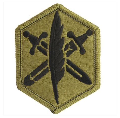 Vanguard ARMY PATCH: 85TH CIVIL AFFAIRS BRIGADE - OCP