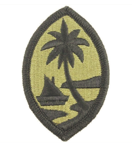 Vanguard ARMY PATCH: GUAM NATIONAL GUARD - EMBROIDERED ON OCP