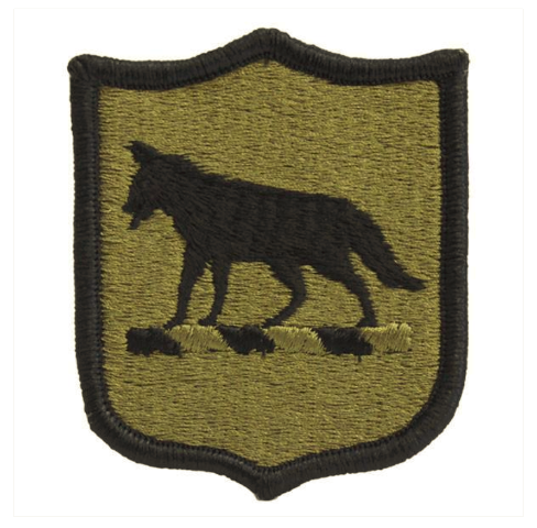 Vanguard ARMY PATCH: SOUTH DAKOTA NATIONAL GUARD - EMBROIDERED ON OCP