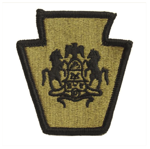 Vanguard ARMY PATCH: PENNSYLVANIA NATIONAL GUARD - EMBROIDERED ON OCP