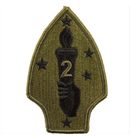 372b33c6230 Vanguard MARINE CORPS SHOULDER PATCH  SECOND DIVISION - SUBDUED (NON- RETURNABLE)