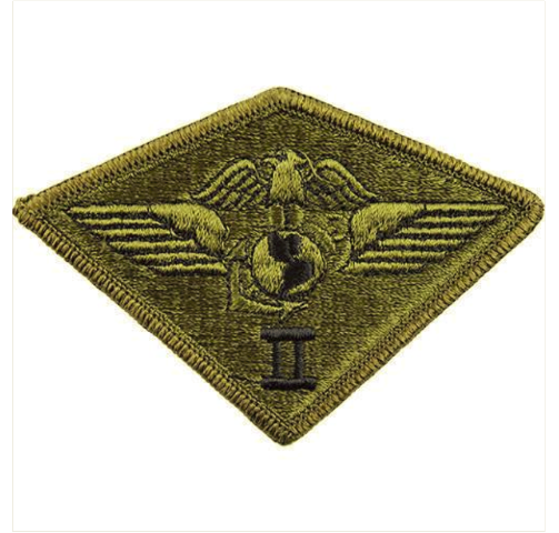 ef7260b38a8 Vanguard MARINE CORPS PATCH  SECOND AIR WING - SUBDUED (NON-RETURNABLE)