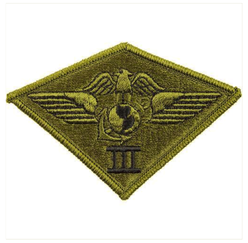 d2686503a59 Vanguard MARINE CORPS PATCH  THIRD AIR WING - SUBDUED (NON-RETURNABLE)