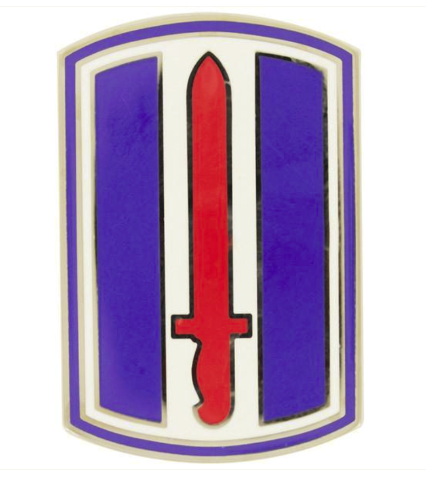 Vanguard ARMY COMBAT SERVICE IDENTIFICATION BADGE (CSIB): 193RD INFANTRY BRIGADE