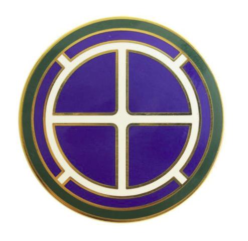 Vanguard ARMY COMBAT SERVICE IDENTIFICATION BADGE (CSIB): 35TH INFANTRY DIVISION