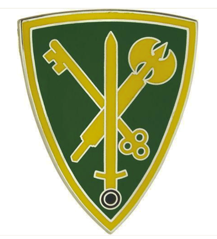 vanguard army combat service identification badge 42nd military