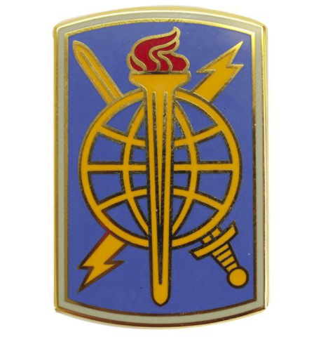 Vanguard ARMY COMBAT SERVICE IDENTIFICATION 500TH MILITARY INTELLIGENCE COMMAND