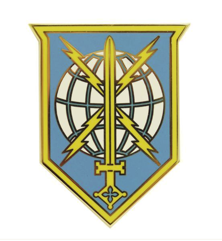 Vanguard ARMY COMBAT SERVICE IDENTIFICATION MILITARY INTELLIGENCE READINESS COMM