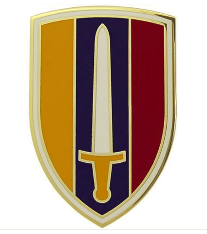 Vanguard ARMY COMBAT SERVICE IDENTIFICATION BADGE UNITED STATES ARMY VIETNAM