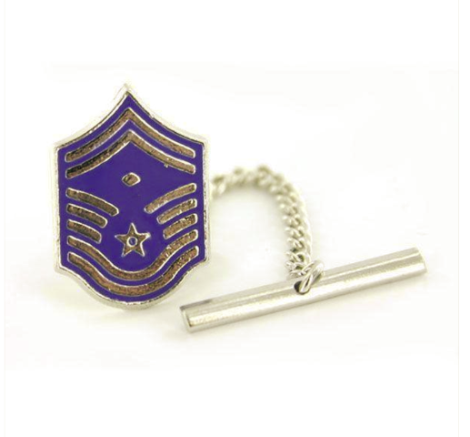 Vanguard AIR FORCE TIE TAC: MASTER SERGEANT: FIRST SERGEANT: SENIOR