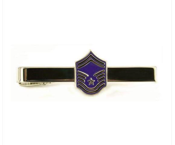 Vanguard AIR FORCE TIE BAR: MASTER SERGEANT: SENIOR