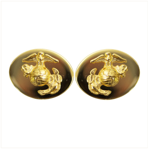 Vanguard MARINE CORPS CUFF LINKS: NON-COMMISSIONED OFFICER
