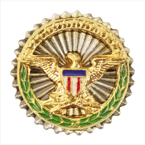 Vanguard LAPEL PIN: SECRETARY OF DEFENSE