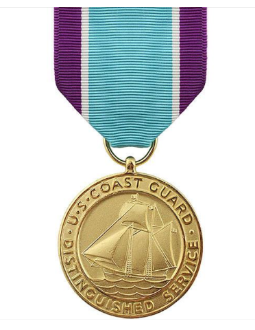 Vanguard FULL SIZE MEDAL COAST GUARD DISTINGUISHED SERVICE