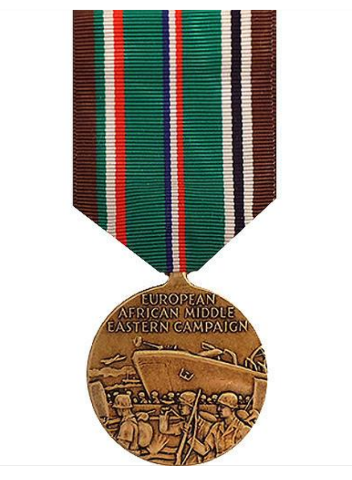 Vanguard FULL SIZE MEDAL EUROPEAN AFRICAN MIDDLE EAST CAMPAIGN