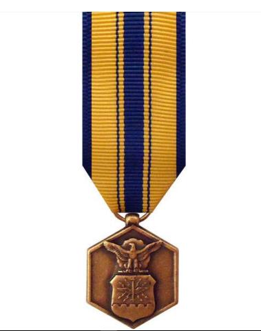 Vanguard Mini Miniature US Air Force USAF Commendation Medal Award