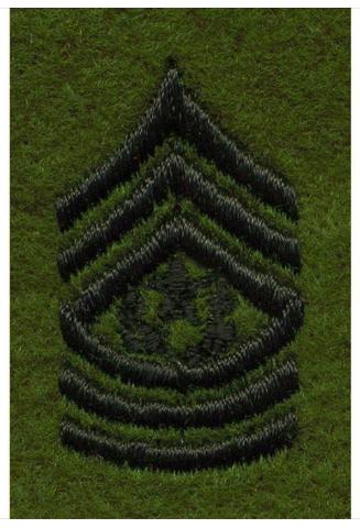 Vanguard ARMY LEADERSHIP RANK TAB: COMMAND SERGEANT MAJOR
