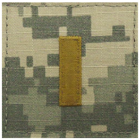 Vanguard ARMY EMBROIDERED ACU RANK INSIGNIA: SECOND LIEUTENANT