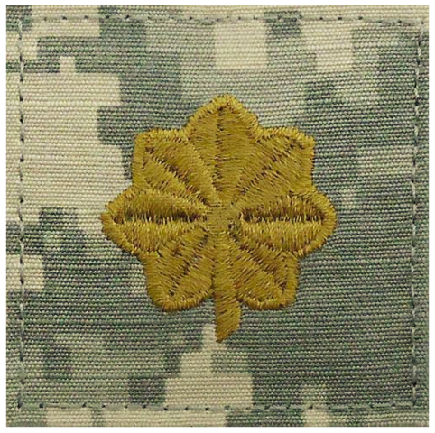 Vanguard ARMY EMBROIDERED ACU RANK INSIGNIA: MAJOR