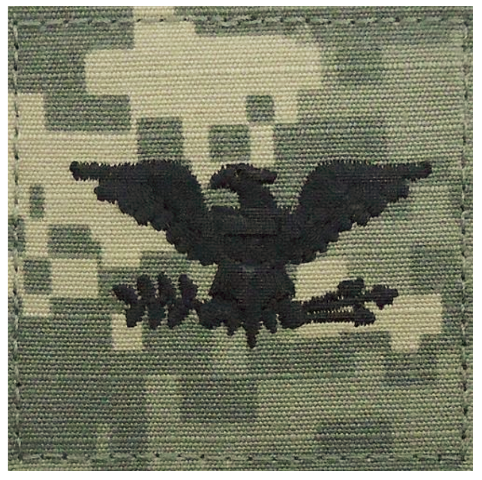 Vanguard ARMY EMBROIDERED ACU RANK INSIGNIA: COLONEL