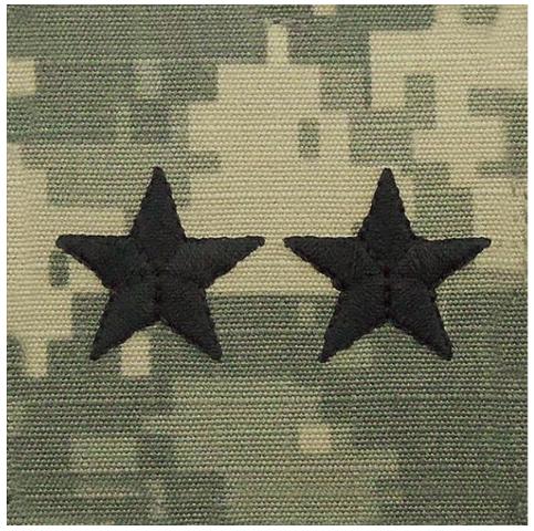 Vanguard ARMY EMBROIDERED ACU CAP RANK: MAJOR GENERAL