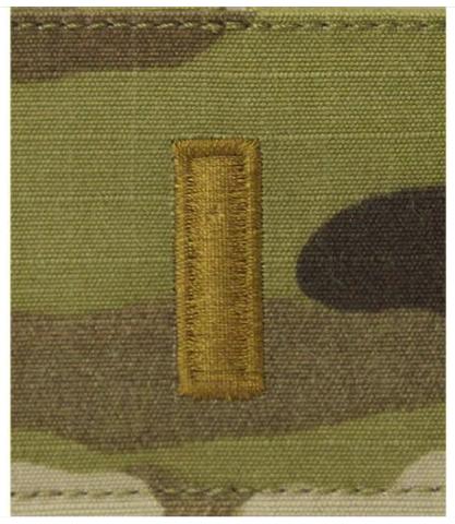 Vanguard ARMY GORTEX RANK: SECOND LIEUTENANT - OCP JACKET TAB