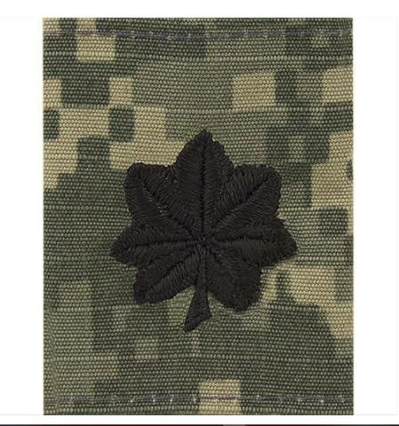 Vanguard ARMY CHEVRON GORTEX TAB: RANK OFFICER LIEUTENANT COLONEL O-5 ACU JACKET