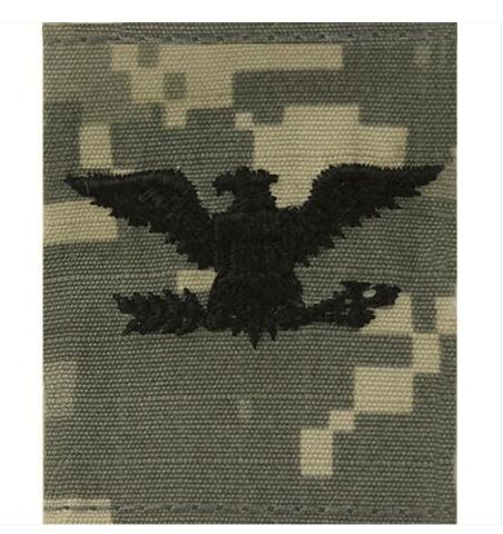 Vanguard ARMY CHEVRON GORTEX TAB RANK OFFICER COLONEL (O-6) ACU JACKET