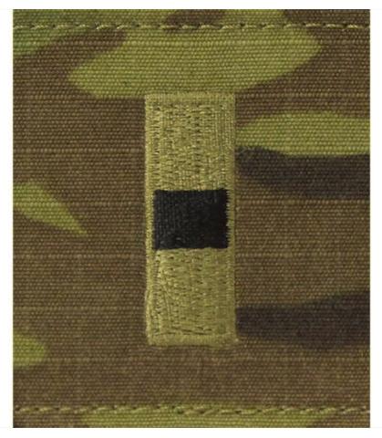 Vanguard ARMY GORTEX RANK: WARRANT OFFICER 1 - OCP JACKET TAB
