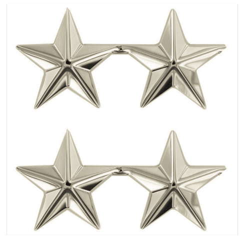 Vanguard STARS: NICKEL PLATED 1""