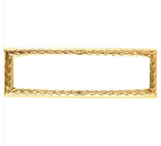 Vanguard Ribbon Attachment Small Gold Frame
