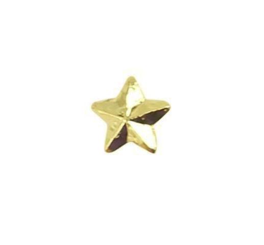 Vanguard RIBBON ATTACHMENTS: STAR - 3/16 INCH GOLD