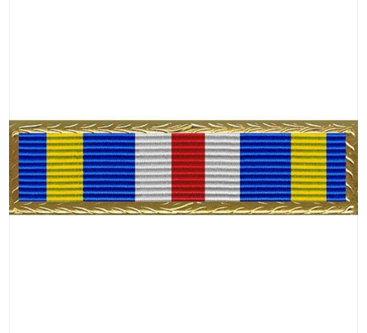 Vanguard Air Force Joint Meritorious Unit Award Ribbon Unit W Small