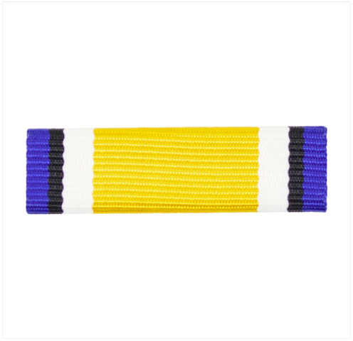 Vanguard RIBBON UNIT #3317 NAVY ROTC RIBBON UNIT: NROTC COLOR GUARD