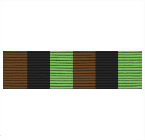 Vanguard ARMY ROTC RIBBON UNIT: R-2-5: MOST IMPROVED AWARD