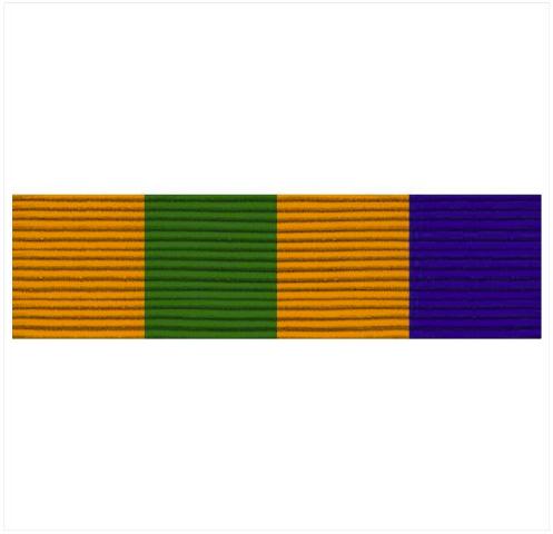 Vanguard ARMY ROTC RIBBON UNIT: R-3-2: EXCELLENCE ADVANCE CAMP GRADUATE