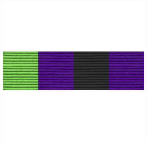 Vanguard ARMY ROTC RIBBON UNIT: R-4-5: BATTALION COMMANDER'S RECRUITING RIBBON