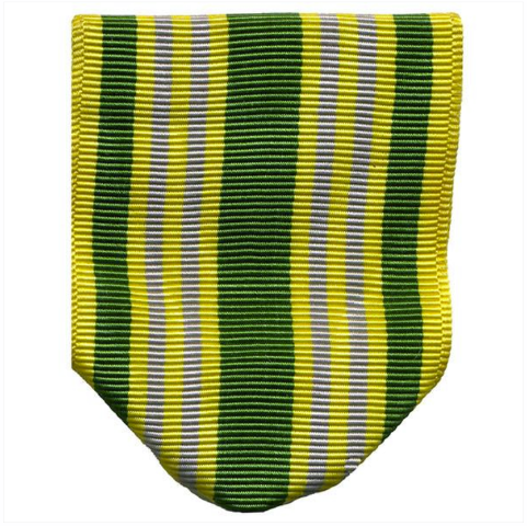 Vanguard ARMY ROTC RIBBON DRAPE: N-1-2: AJROTC ACADEMIC EXCELLENCE