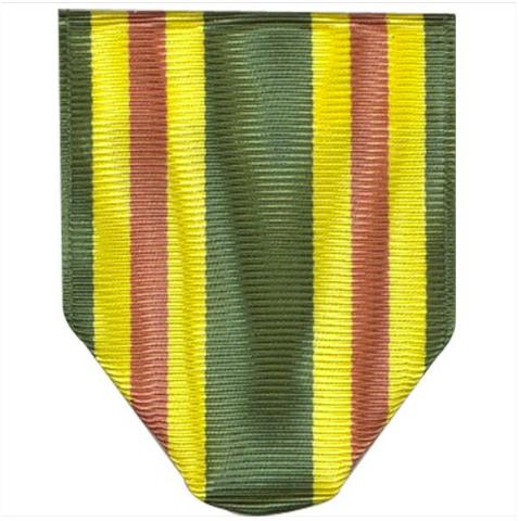 Vanguard ARMY ROTC RIBBON DRAPE: N-3-5: AJROTC ORIENTEERING