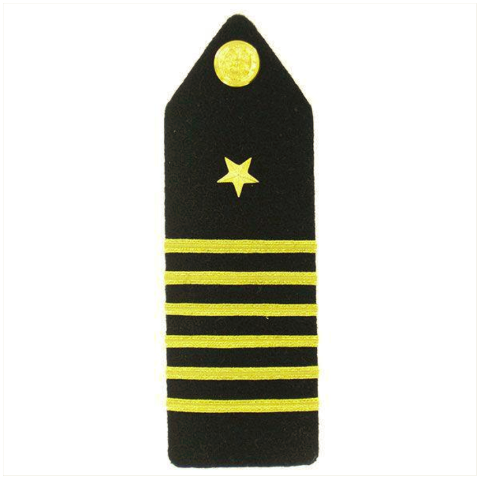 Vanguard NAVY ROTC MIDSHIPMAN HARD BOARD: CAPTAIN