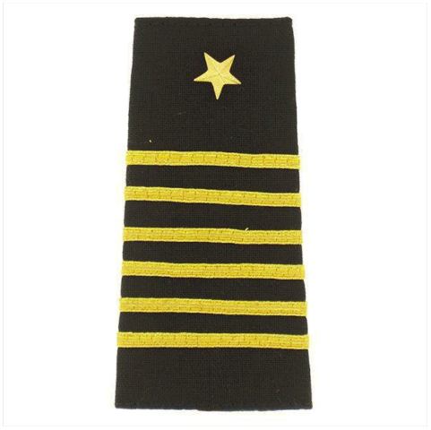 Vanguard NAVY ROTC SOFT MARK: MIDSHIPMAN CAPTAIN