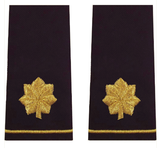Vanguard ARMY EPAULET: MAJOR - LARGE