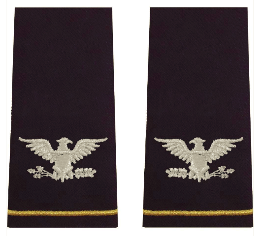 Vanguard ARMY EPAULET: COLONEL - LARGE