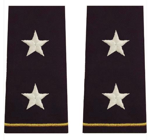 Vanguard ARMY EPAULET: MAJOR GENERAL - LARGE