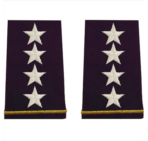 Vanguard ARMY EPAULET: GENERAL - SMALL