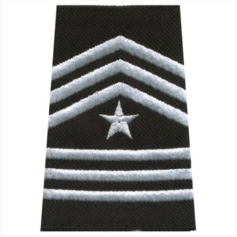 Vanguard ARMY ROTC EPAULET: SERGEANT MAJOR - SMALL