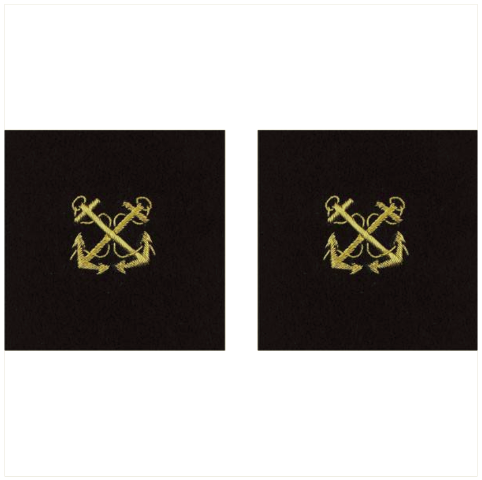 Vanguard NAVY SLEEVE DEVICE: BOATSWAIN - SYNTHETIC GOLD EMBROIDERED ON BLACK